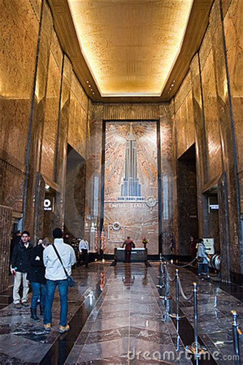 empire state building interior editorial photography