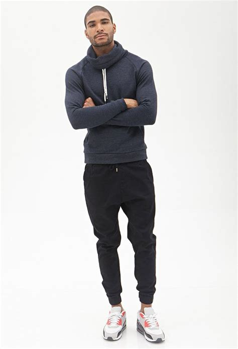 Cowl Neck Sweatshirt | 21 MEN - 2000087232 | My Style | Pinterest | Style Your mama jokes and ...