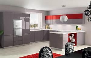 couleur pour cuisine 105 idees de peinture murale et facade With quelle couleur va avec le taupe 15 cuisine blanc sur mur gris