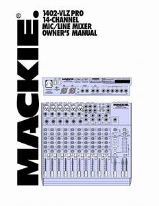 Download Free Pdf For Mackie 1642
