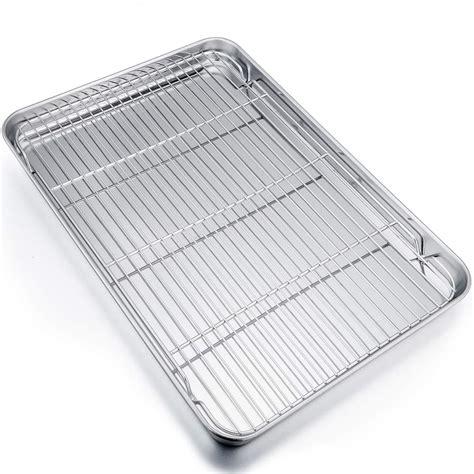 rack sheet cookie oven safe cooling baking pan extra batsdeals