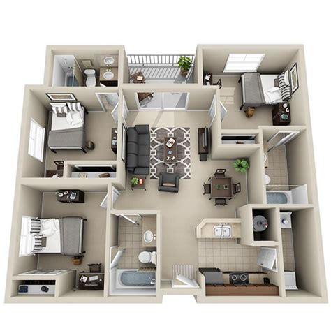 3 room apartement in the green apartments for rent in three bedroom apartments designs for your living