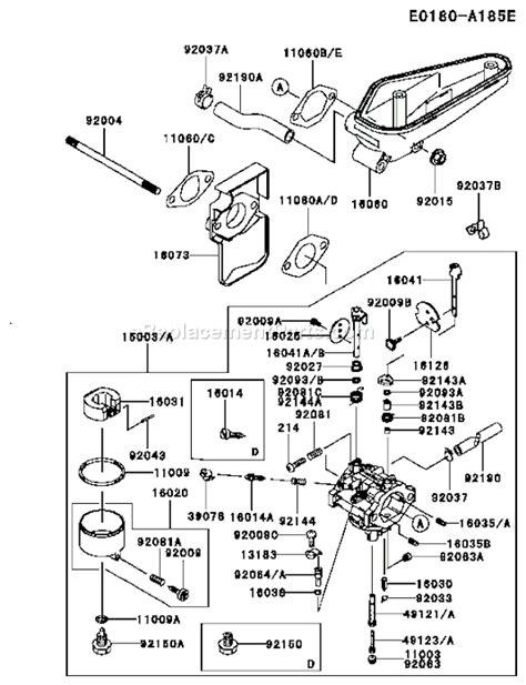 Kawasaki Fc540v Parts by Fc540v Kawasaki Engine Wiring Diagram 37 Wiring Diagram