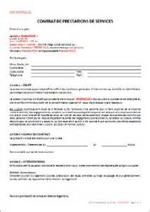 contrat de prestation de services sap agrement qualite fr
