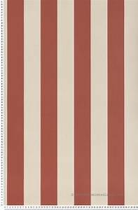 Papier Peint Rayé Noir Et Blanc : papier peint rayures framboise 67 mm papier peint ~ Dailycaller-alerts.com Idées de Décoration