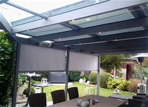 Sonnenschutz Terrassenüberdachung Innenbeschattung : terrassen berdachung und carport von zenn metallbau ~ Orissabook.com Haus und Dekorationen
