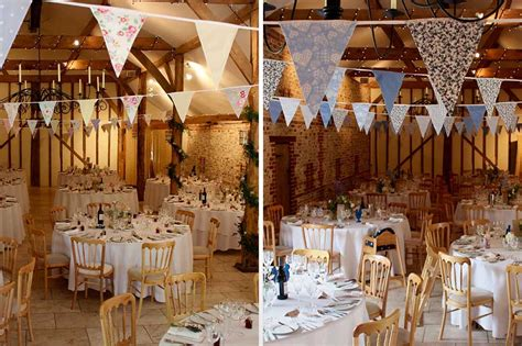 10 wedding reception decoration ideas to suit an upwaltham barns wedding