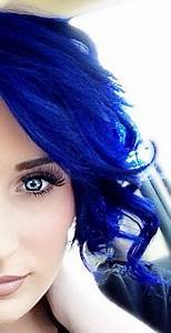 My new blue hair done by me I used a formula consisting