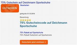 Deichmann Auf Rechnung : deichmann gutschein bis 75 gutschein auf sportschuhe gutschein ~ Themetempest.com Abrechnung