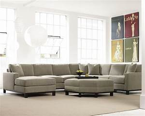 urban planning 4 piece sectional with chaise by precedent With sectional sofa planner