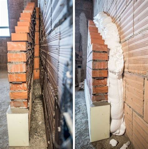 coibentazione pareti interne muffa isolare casa mediante insufflaggio di schiuma nelle