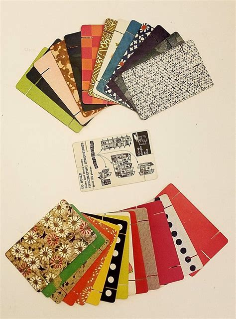 vintage charles ray eames house  cards eames