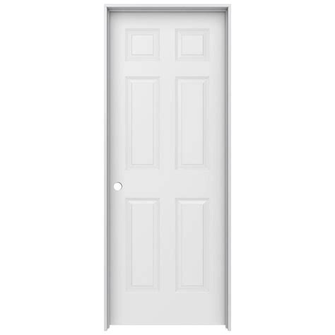 home depot wood doors interior jeld wen 30 in x 80 in colonist primed right