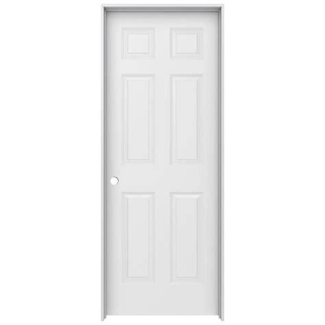 wood interior doors home depot jeld wen 30 in x 80 in colonist primed right