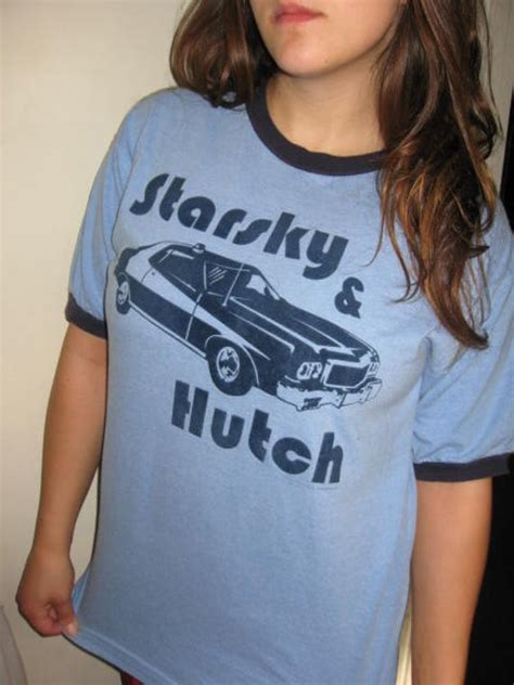 Starsky And Hutch T Shirt - vintage 70 s tv show starsky and hutch collectible by