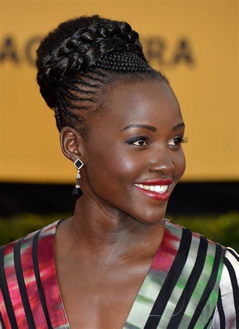 top  trendy updo hairstyle  black women   great