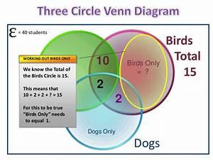 3 Circle Venn Diagram Solver