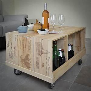 Caisse De Vin En Bois : d corer votre salon avec des caisses vins woodcase mais ~ Farleysfitness.com Idées de Décoration