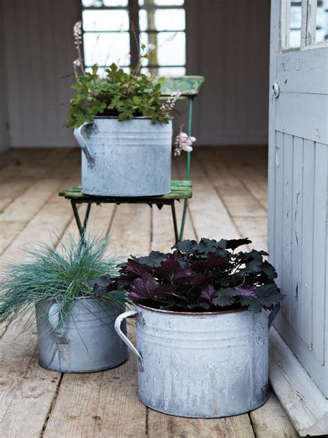 Zinc Planters From Cox