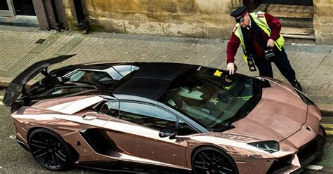 The House That Parks A Lamborghini In The Living by Arrogant Lamborghini Owner Would Rather Take Tickets Than