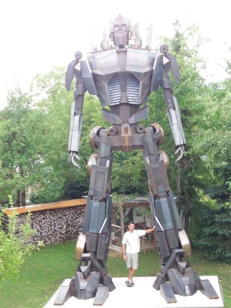 Wohnung Mit Garten Wels Land by Acht Meter Roboter Als Gartendekoration Wels Wels Land
