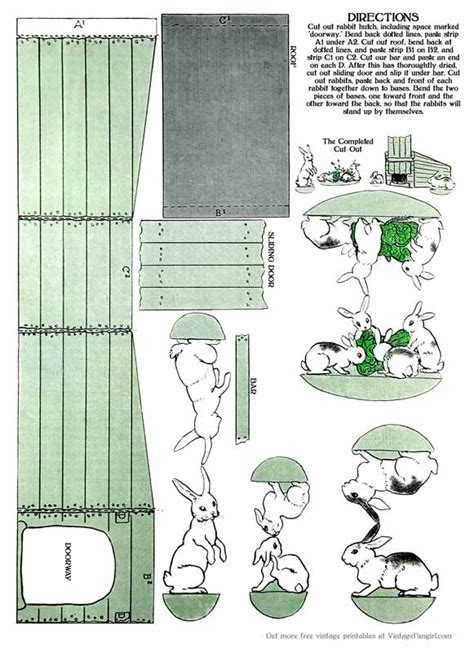 earth day crafts printable easter paper from 1914 woo jr 1914