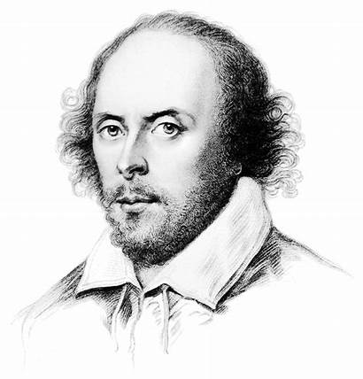 Shakespeare Sketch Clip William Clipart Writer Famous