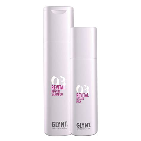 Glynt Revital Regain 3 Set (Shampoo 250ml + Milk 200ml)