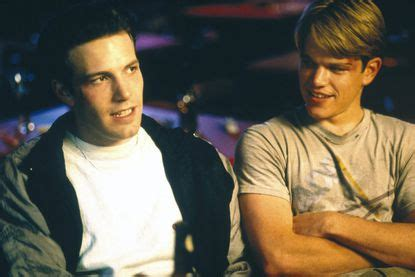 Good will hunting is a 1997 american drama film directed by gus van sant and starring robin williams, matt damon, ben affleck, minnie driver, and stellan skarsgård. Ben Affleck and Matt Damon surprise crowd to perform ...