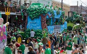 new orleans celebrates st s day in an way