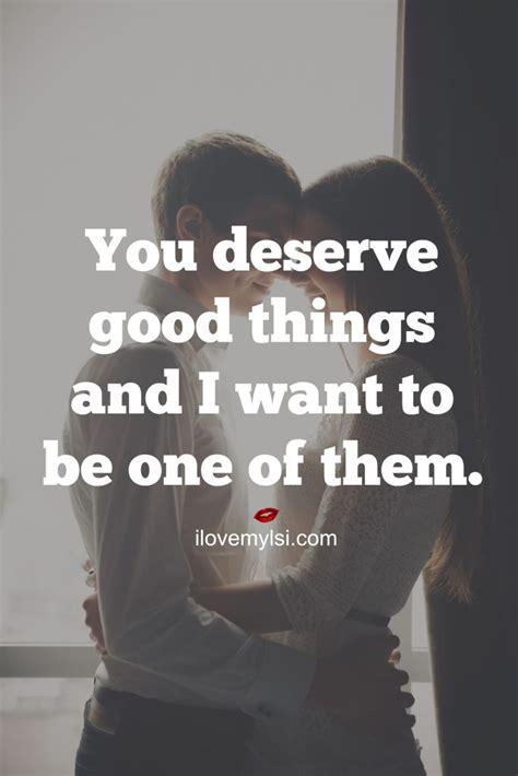 deserve good   love  lsi