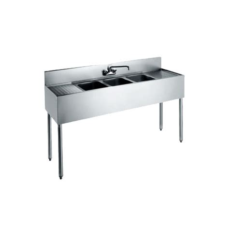 inexpensive kitchen sinks krowne metal cs 1860 60 quot three compartment convenience 1860