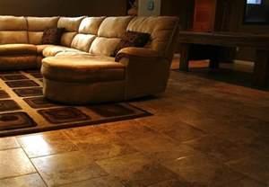 Laminate Flooring Over Concrete Basement by Basement Flooring 101 Bob Vila