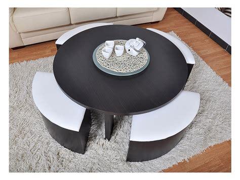 Photo Table Basse Pouf