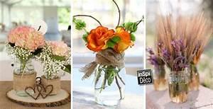 Bocaux Confiture En Gros : pots de fleurs avec des bocaux en verre recycl s inspirez vous ~ Teatrodelosmanantiales.com Idées de Décoration