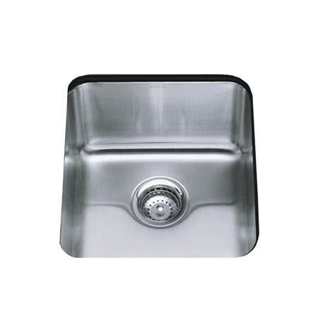 kohler undertone kitchen sink kohler undertone undercounter stainless steel 16 in 6707