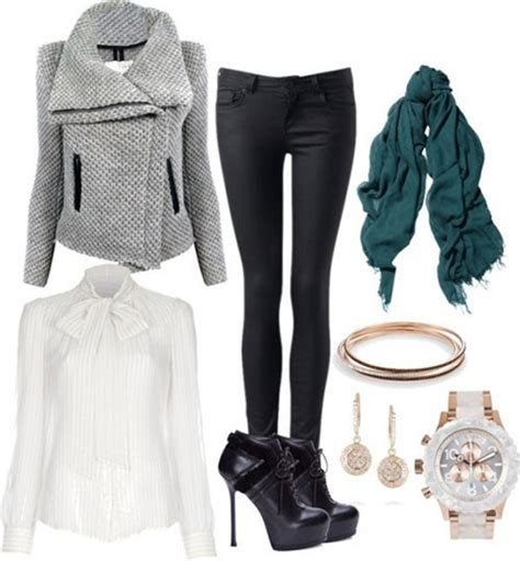 Must Try Polyvore Outfits For The Cold Winter