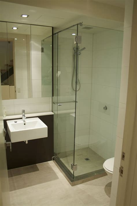 Square Bathroom Layout Ideas by Custom Small Bathroom With Shower Compartment Home Ideas