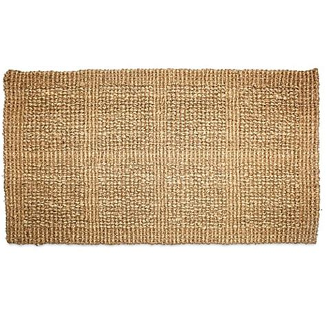 18 inch tile buy j m home fashions plain tile loop 18 inch x 30 inch handmade woven coir doormat in brown