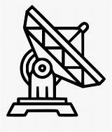 Coloring Satellite Dish Clipart Parabolica Antena Desenho Transparent Satellites Clipartkey sketch template