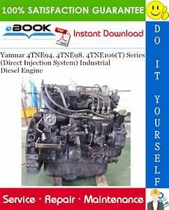 Download Yanmar 4tne94 Industrial Engine  Repair Manual