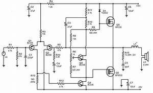 50 W Mosfet Amplifier