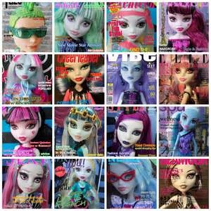 My Froggy Stuff Printables Monster High Magazines