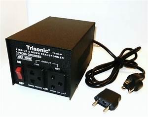 200 W Watt Step Up  Down Voltage Converter Transformer
