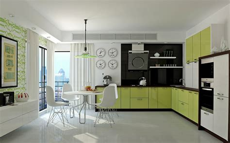 lime green wallpaper for kitchens 33 gorgeous green kitchens and ways to accessorize them 9037