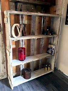 Wood, Pallet, Shelves, Ideas, U2013, Decoredo