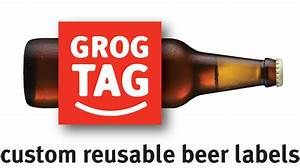 grogtag custom homebrew beer bottle labels you design With custom beer label maker
