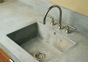 Küche Beton Arbeitsplatte : k chen mit einer arbeitsplatte aus beton ~ Sanjose-hotels-ca.com Haus und Dekorationen