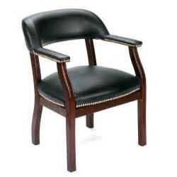 traditional black reception chair free shipping