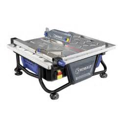 shop kobalt 7 in tabletop tile saw at lowes